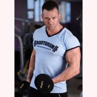 Bodydrom 004-08-BDT Düşük Kol T-Shirt Mavi