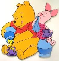 Duvar Süsü Winnie The Pooh ve Piglet, DF1001