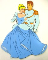 Duvar Süsü Cinderella ve Prens, PW012