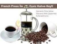 Epinox French Press 350 ml. Kahve Çekirdeği Model
