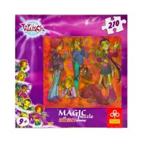 Puzzle Magic 3D 210 Parça, Witch 35805