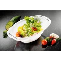 Börner V5 Kombine Salata Küveti, Şeffaf Beyaz